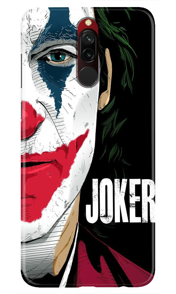 Joker Mobile Back Case for Xiaomi Redmi 8  (Design - 301)