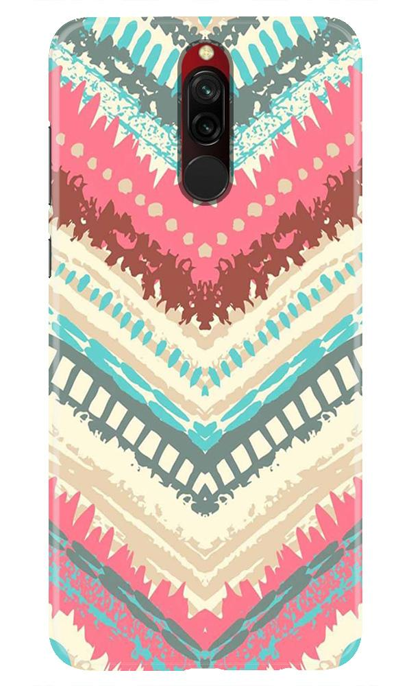 Pattern Mobile Back Case for Xiaomi Redmi 8  (Design - 368)