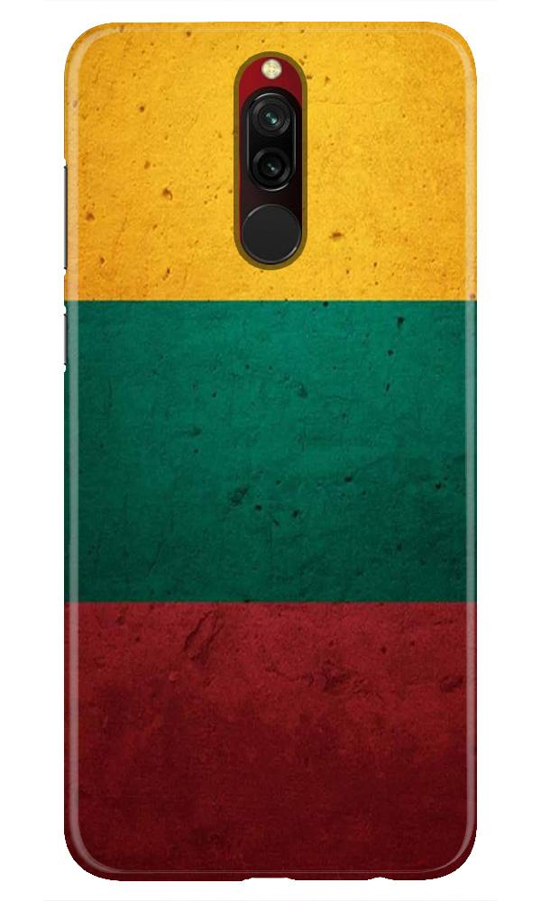 Color Pattern Mobile Back Case for Xiaomi Redmi 8  (Design - 374)
