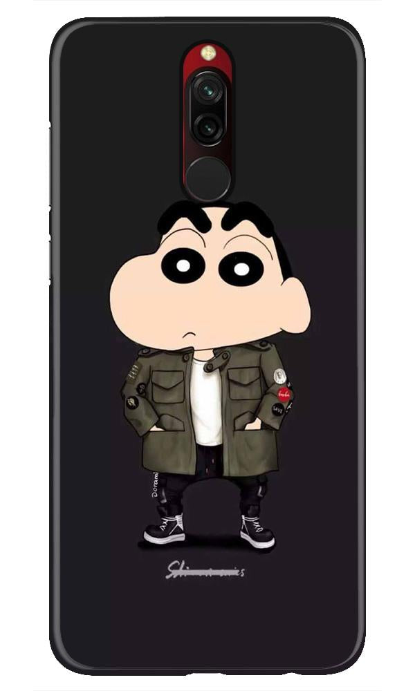 Shin Chan Mobile Back Case for Xiaomi Redmi 8  (Design - 391)