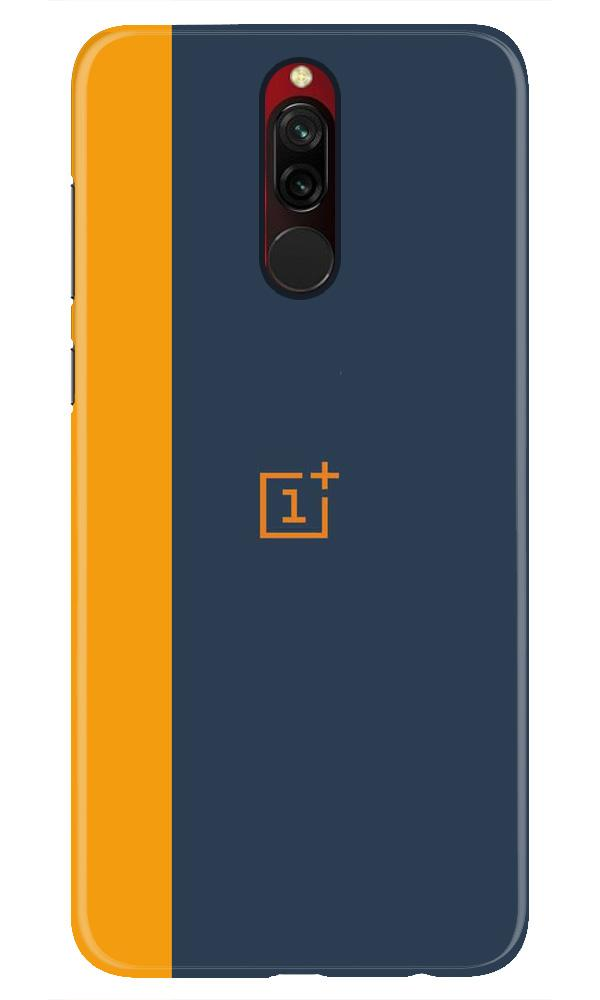 Oneplus Logo Mobile Back Case for Xiaomi Redmi 8  (Design - 395)