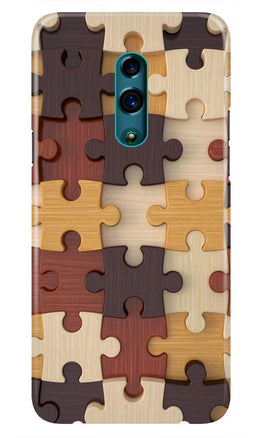 Puzzle Pattern Case for Oppo K3 (Design No. 217)