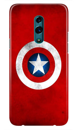 Captain America Case for Oppo Reno (Design No. 249)