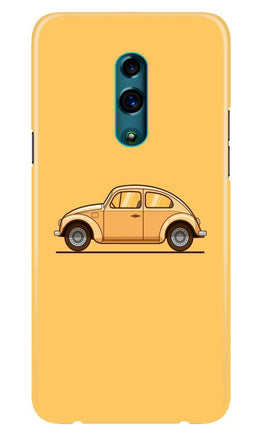 Vintage Car Case for Realme X (Design No. 262)
