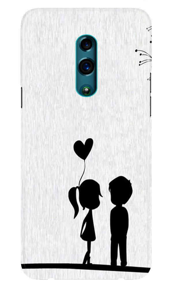 Cute Kid Couple Case for Realme X (Design No. 283)