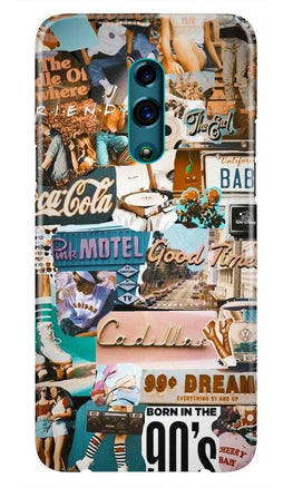 Vintage Design Case for Oppo Reno (Design No. 284)