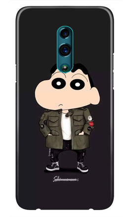 Shin Chan Mobile Back Case for Realme X  (Design - 391)