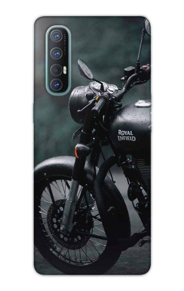 Royal Enfield Mobile Back Case for Oppo Reno3 Pro  (Design - 380)