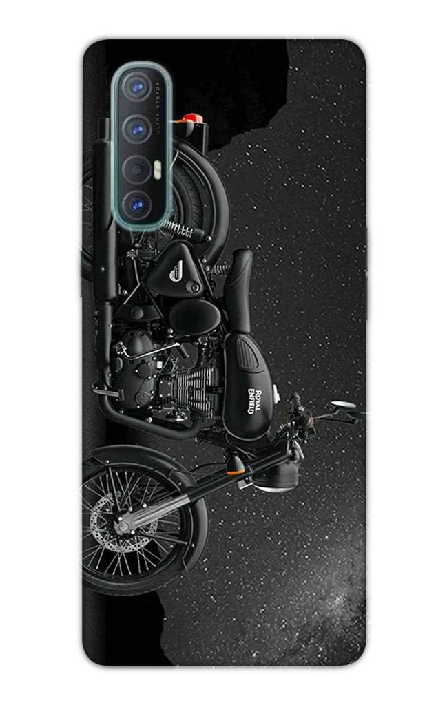 Royal Enfield Mobile Back Case for Oppo Reno3 Pro  (Design - 381)