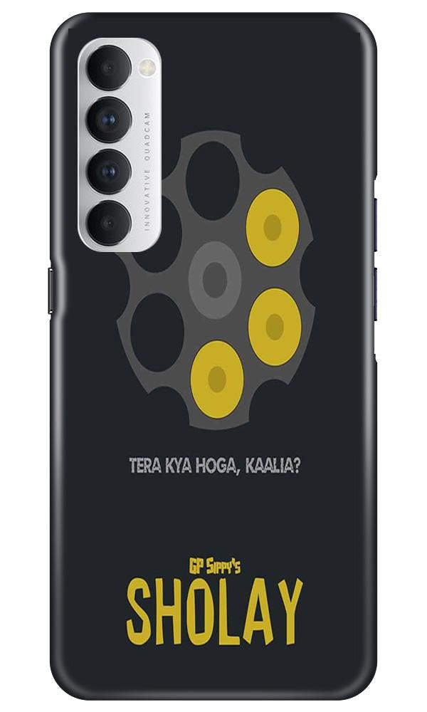 Sholay Mobile Back Case for Oppo Reno4 Pro  (Design - 356)
