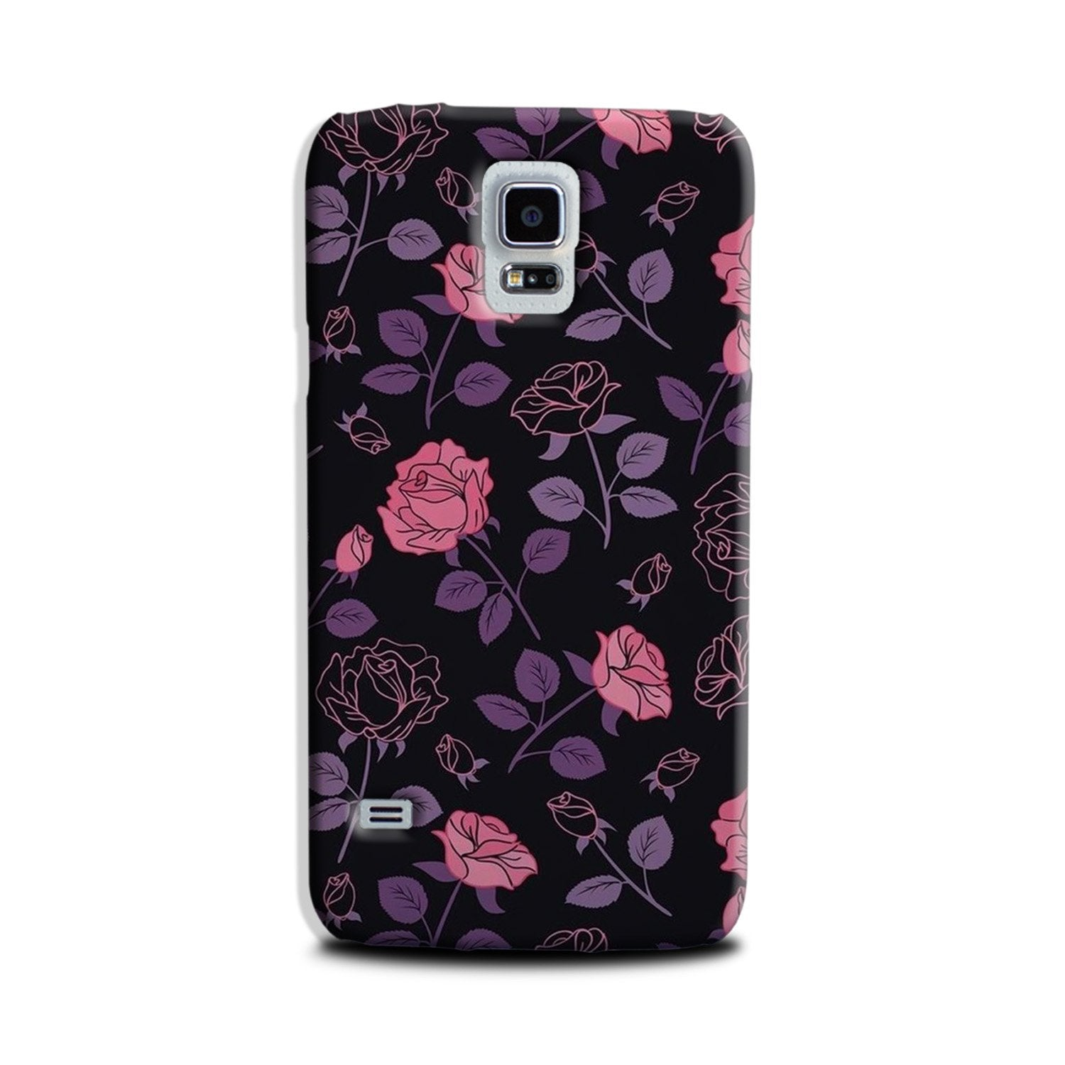 Rose Pattern Case for Galaxy S5