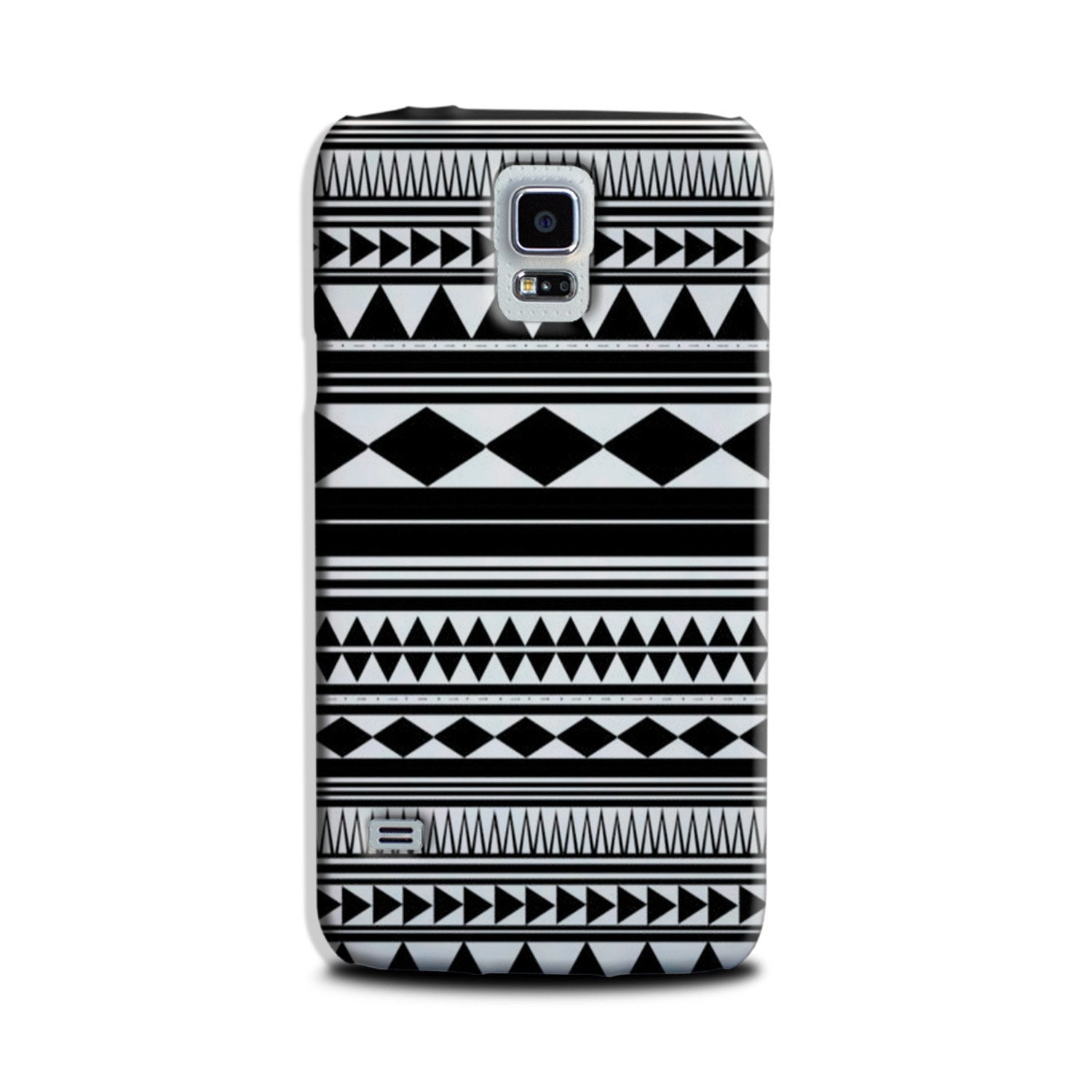 Black white Pattern Case for Galaxy S5