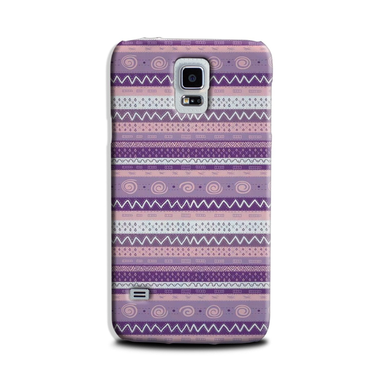 Zigzag line pattern3 Case for Galaxy S5
