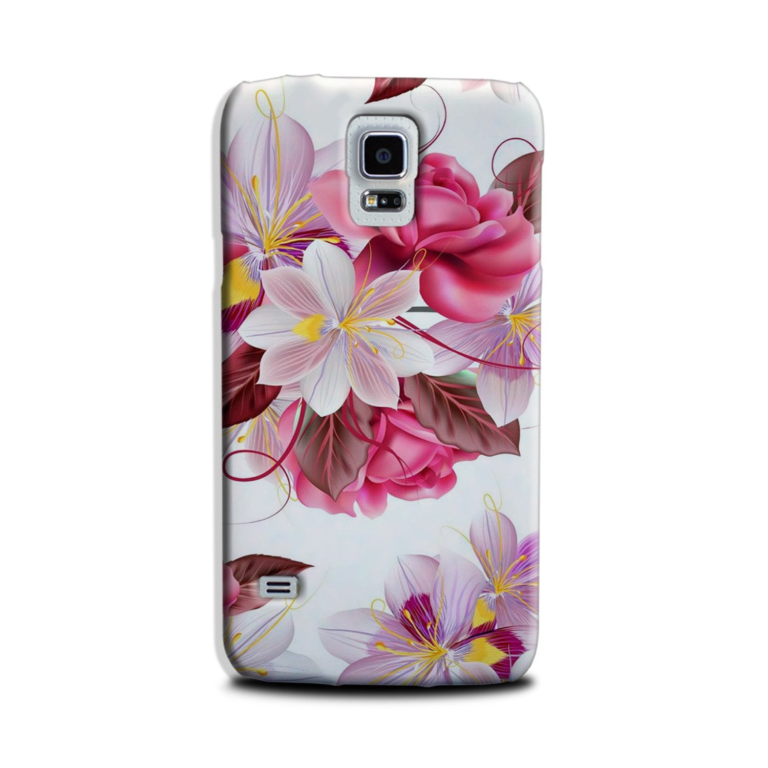 Beautiful flowers Case for Galaxy S5