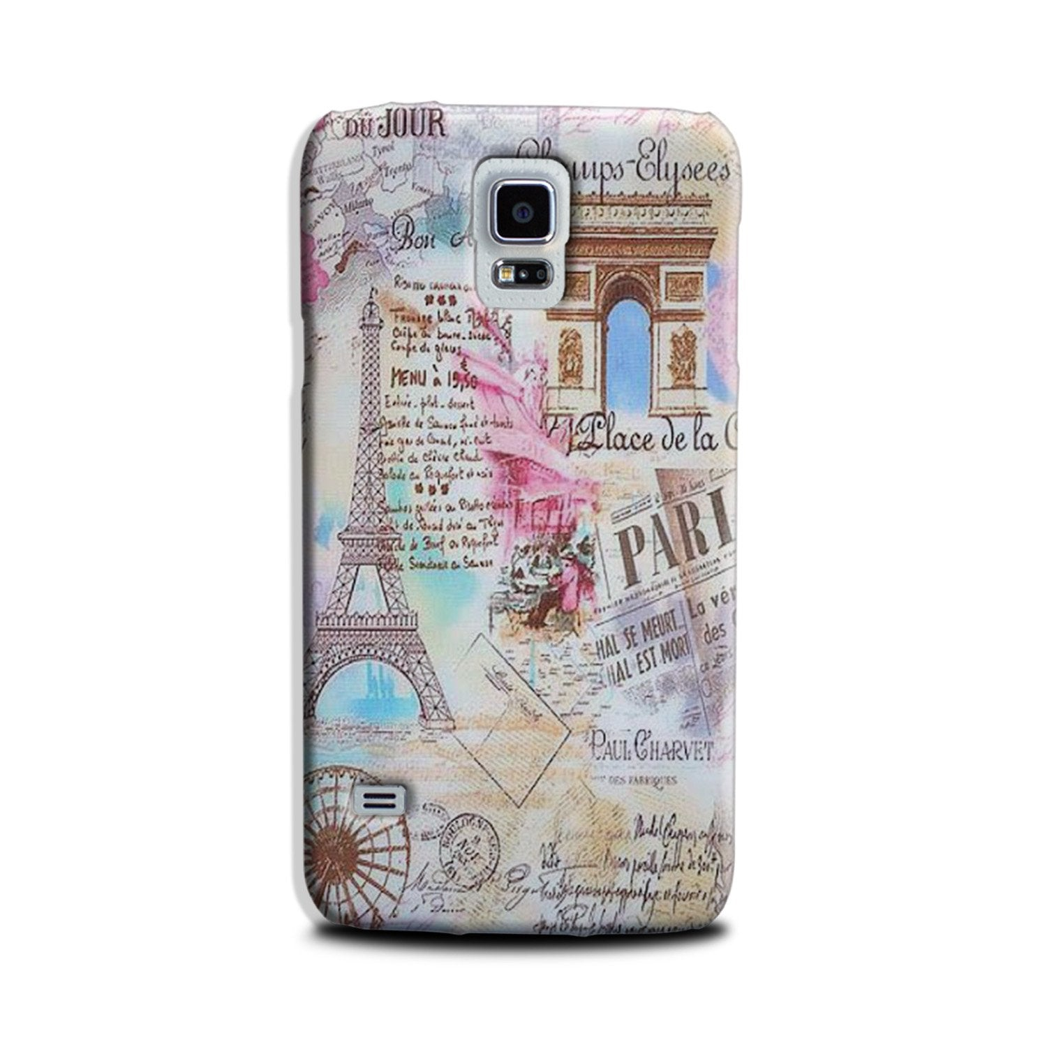 Paris Eiftel Tower Case for Galaxy S5
