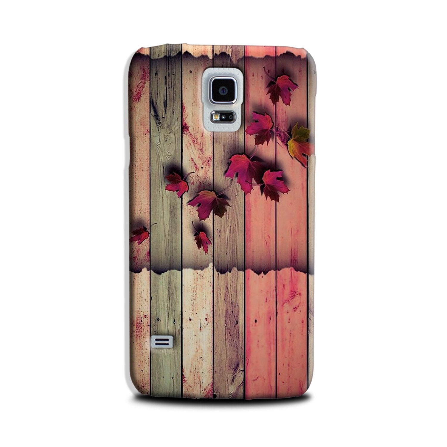 Wooden look2 Case for Galaxy S5