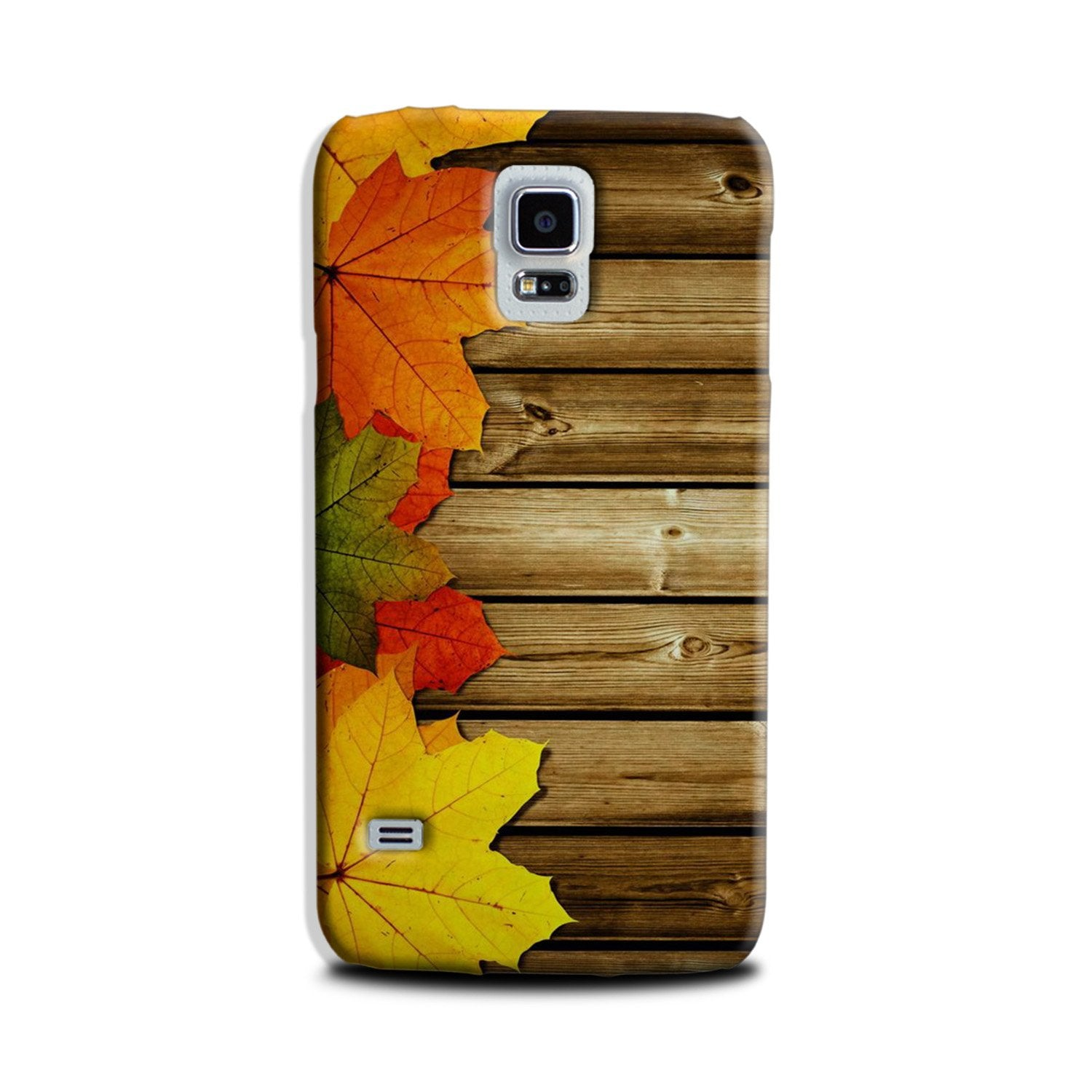 Wooden look3 Case for Galaxy S5