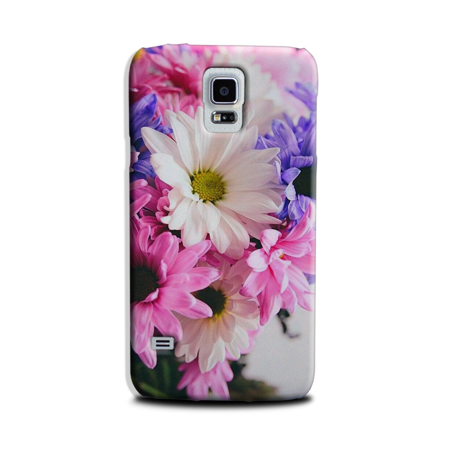 Coloful Daisy Case for Galaxy S5