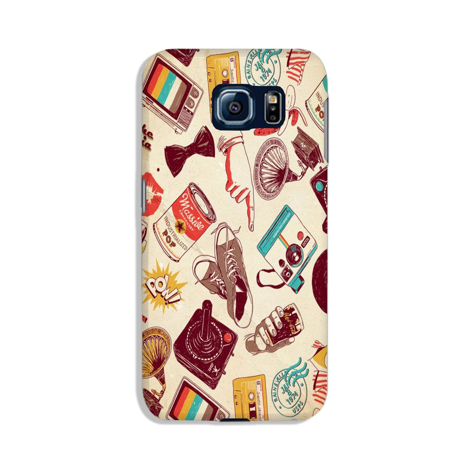Vintage Case for Galaxy S6