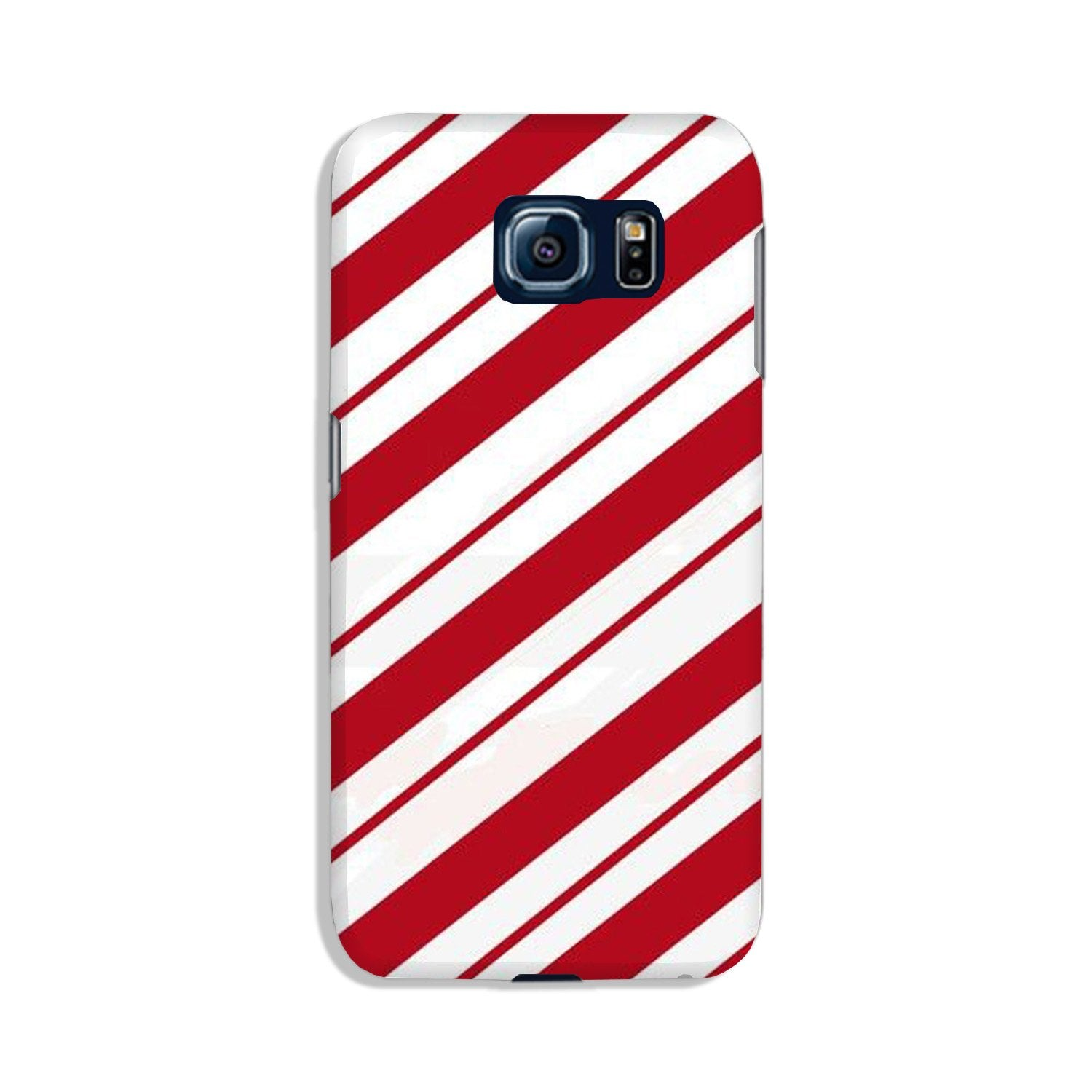Red White Case for Galaxy S6