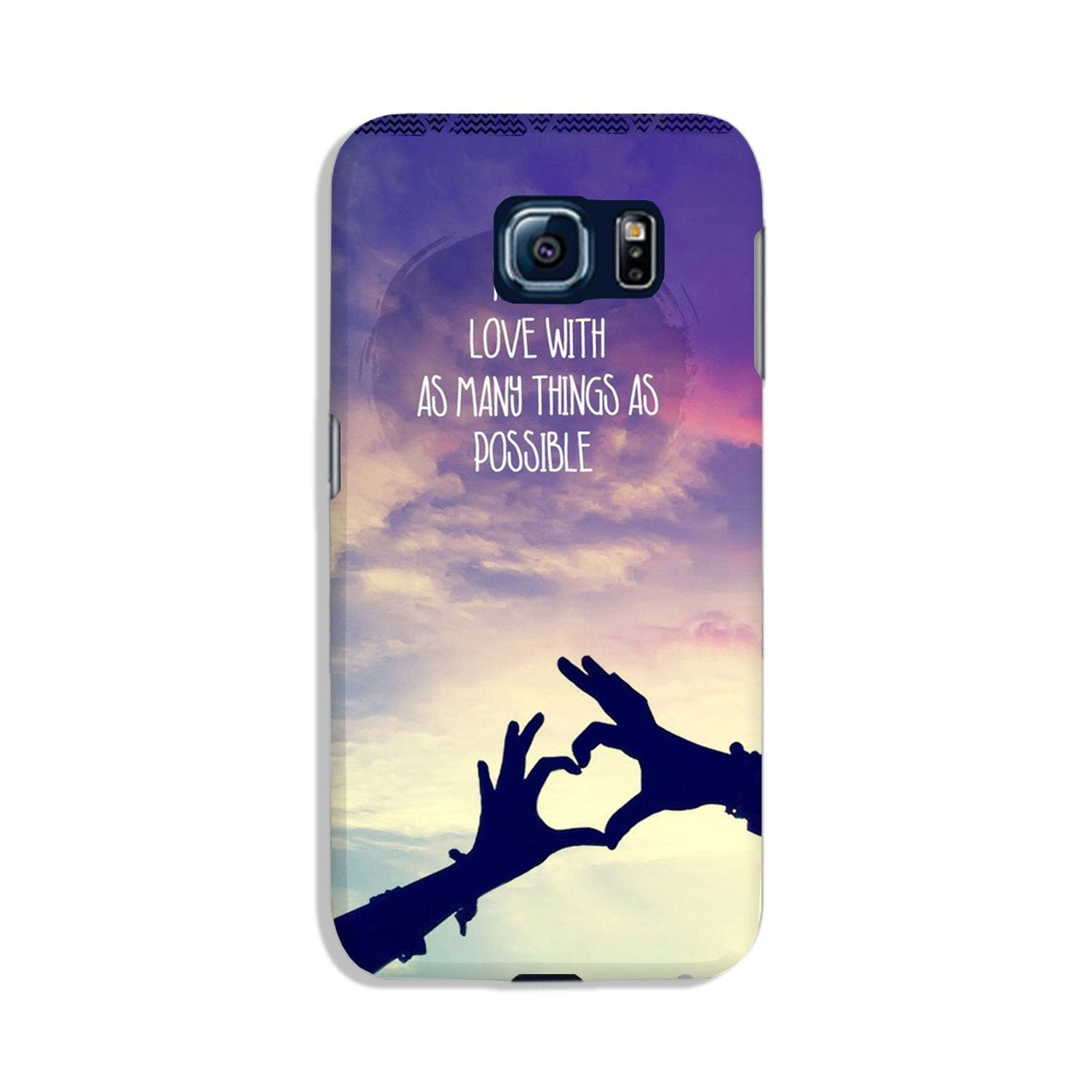 Fall in love Case for Galaxy S6