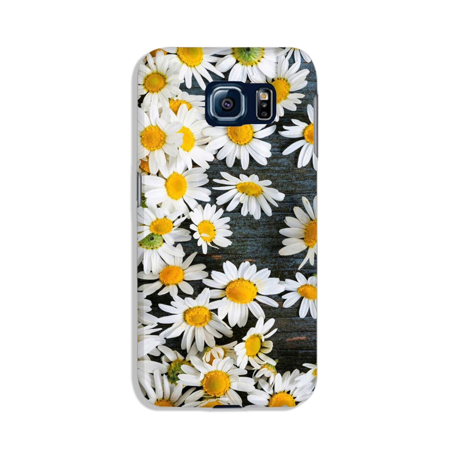 White flowers2 Case for Galaxy S6