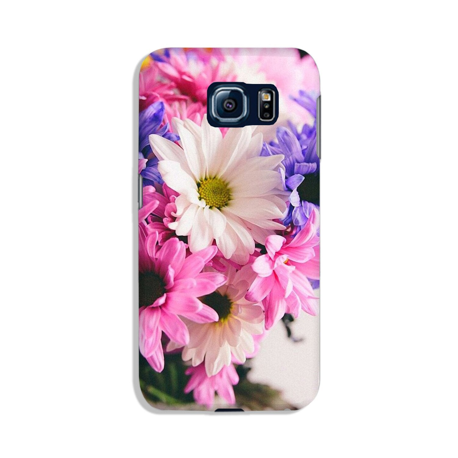 Coloful Daisy Case for Galaxy S6