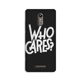 Who Cares Case for Redmi Note 3