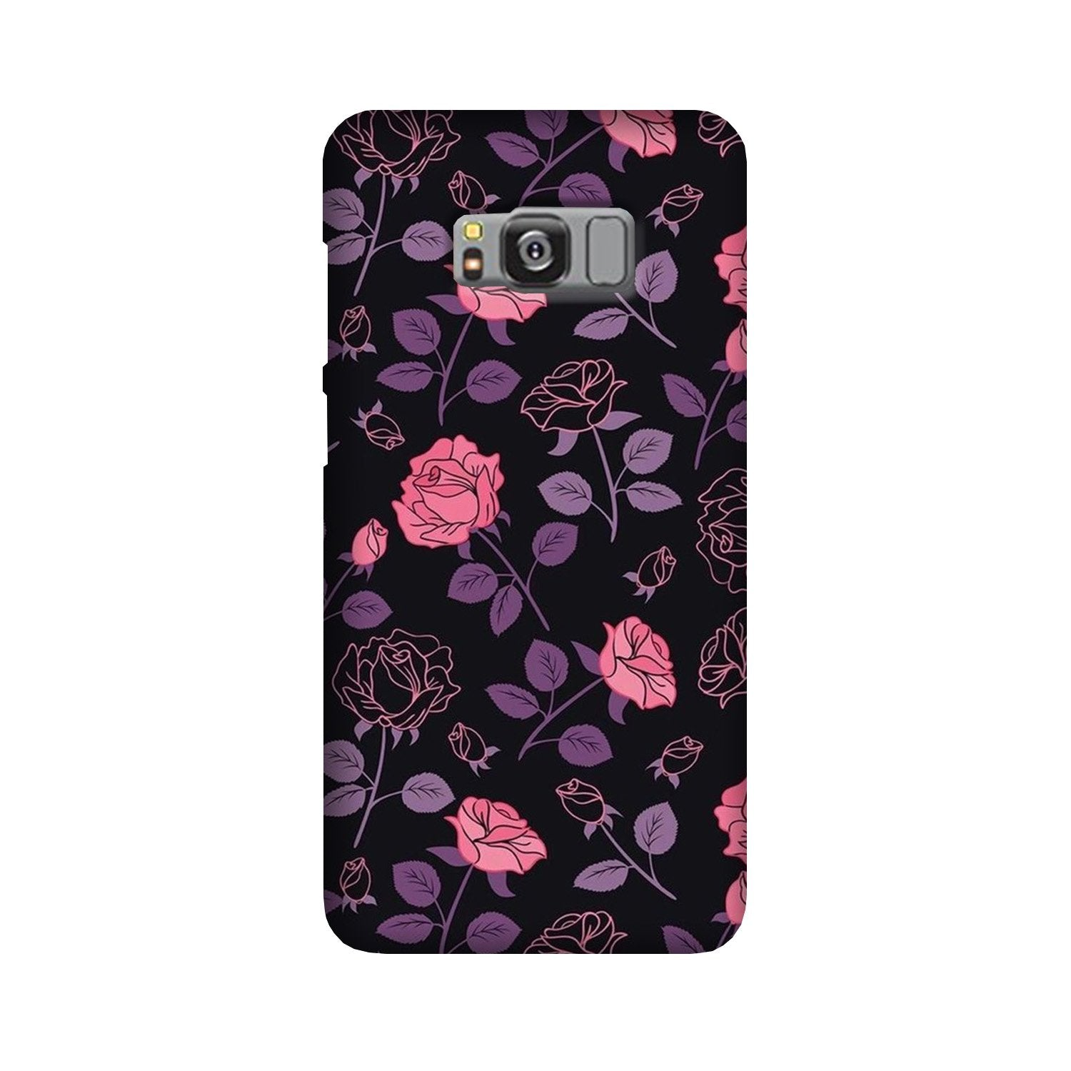 Rose Pattern Case for Galaxy S8 Plus