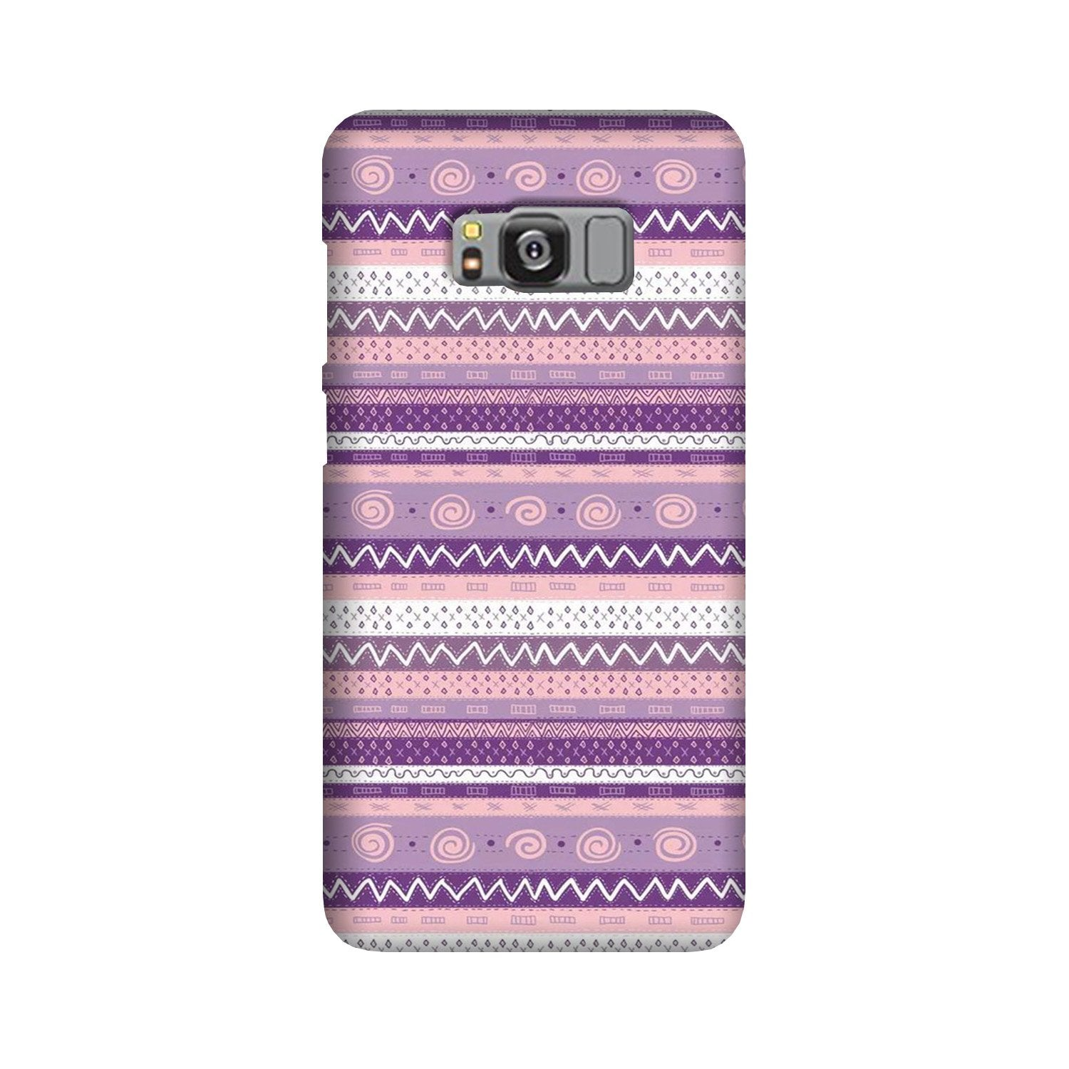 Zigzag line pattern3 Case for Galaxy S8 Plus