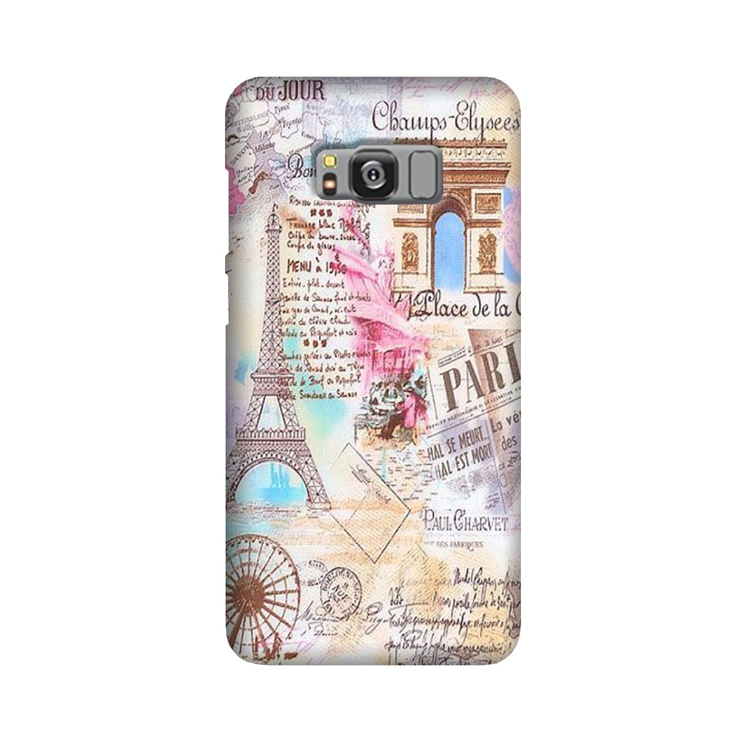 Paris Eiftel Tower Case for Galaxy S8 Plus