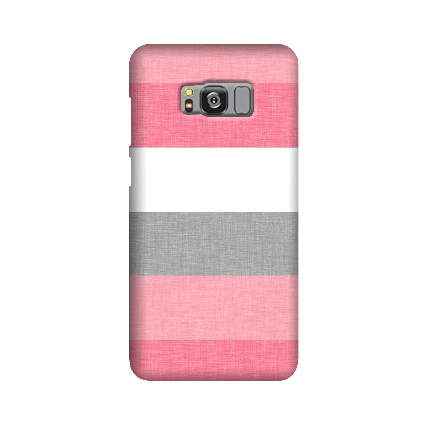 Pink white pattern Case for Galaxy S8 Plus
