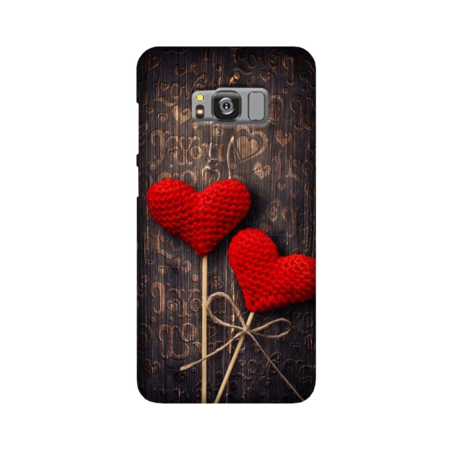 Red Hearts Case for Galaxy S8