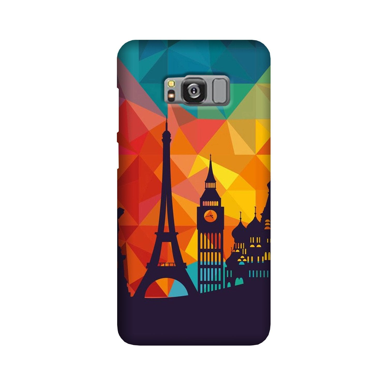Eiffel Tower2 Case for Galaxy S8