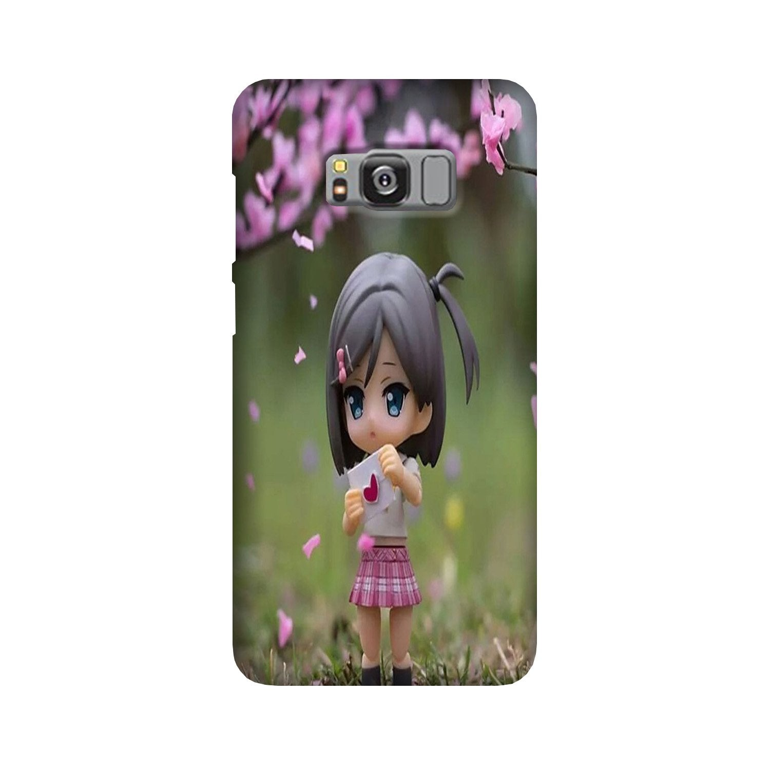 Cute Girl Case for Galaxy S8 Plus