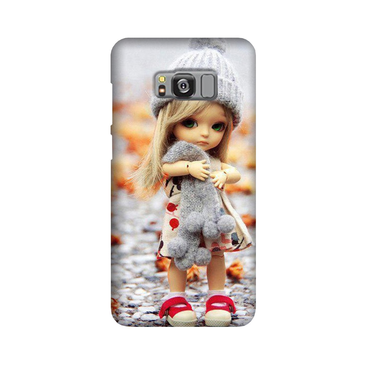 Cute Doll Case for Galaxy S8