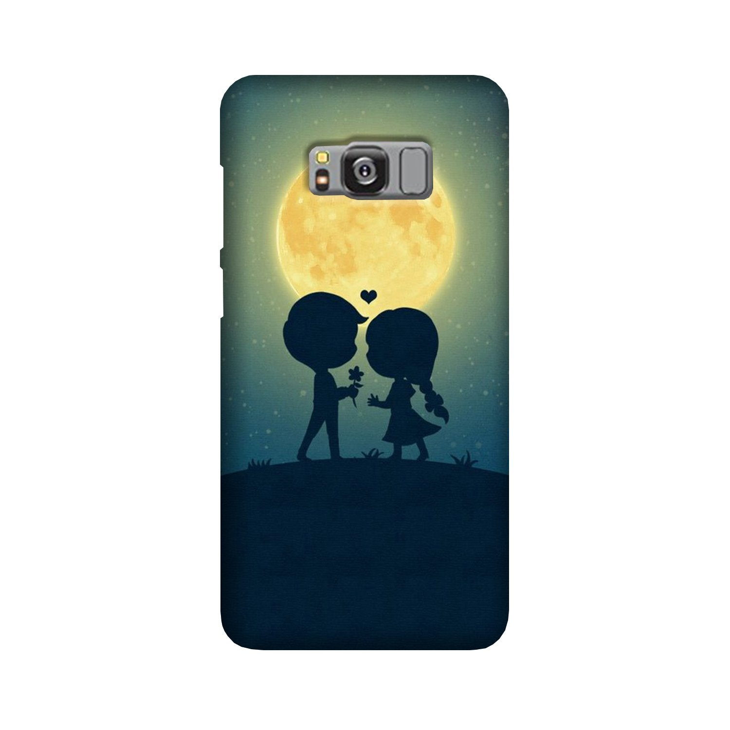 Love Couple Case for Galaxy S8  (Design - 109)