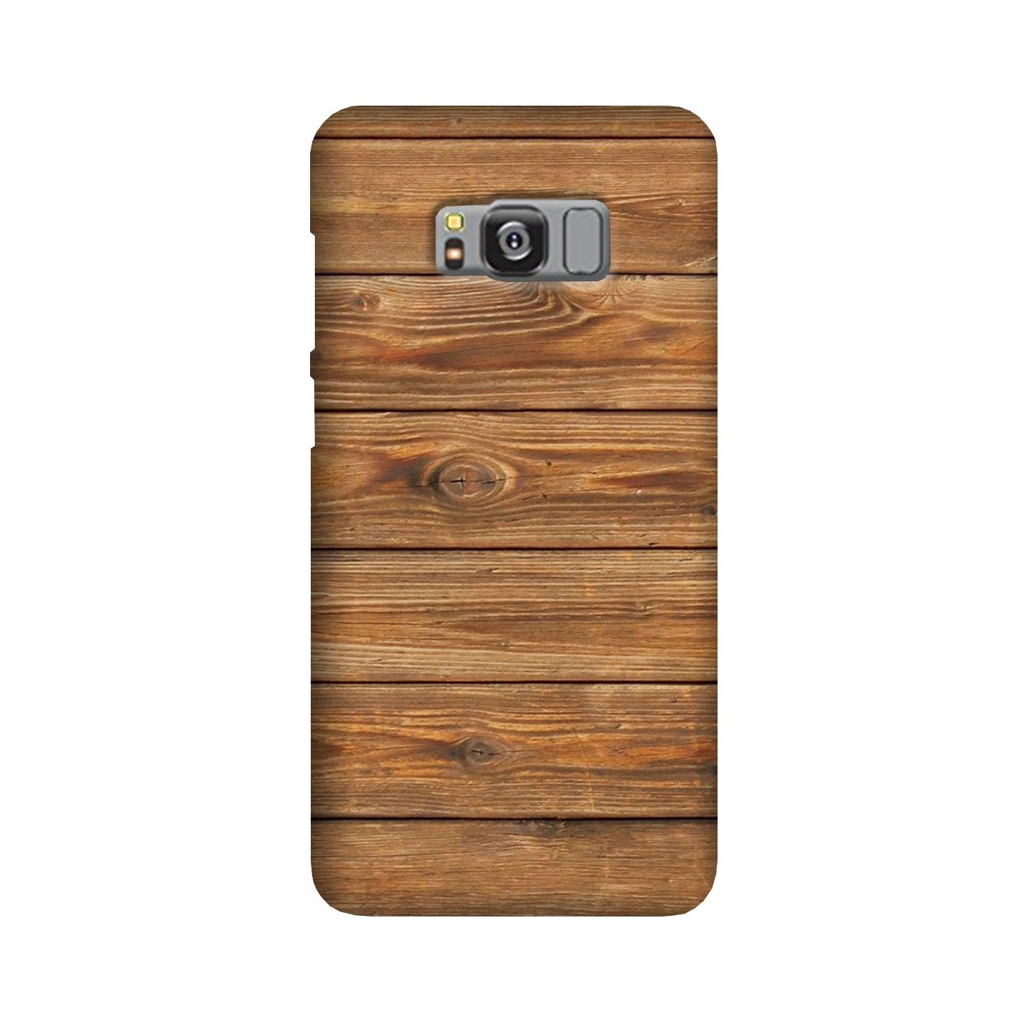 Wooden Look Case for Galaxy S8  (Design - 113)