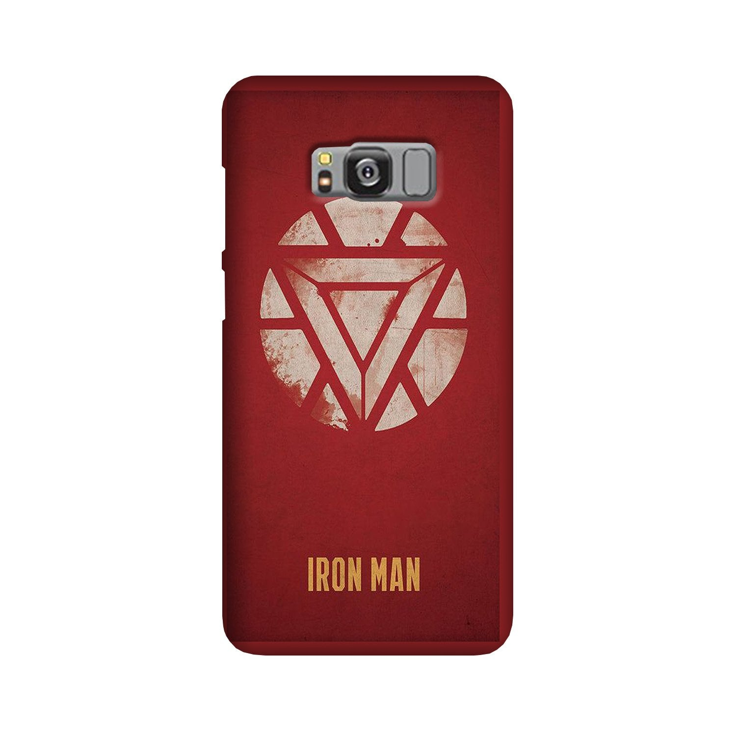 Iron Man Superhero Case for Galaxy S8 Plus  (Design - 115)