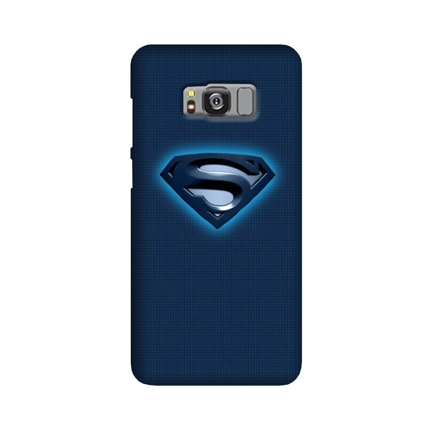 Superman Superhero Case for Galaxy S8  (Design - 117)
