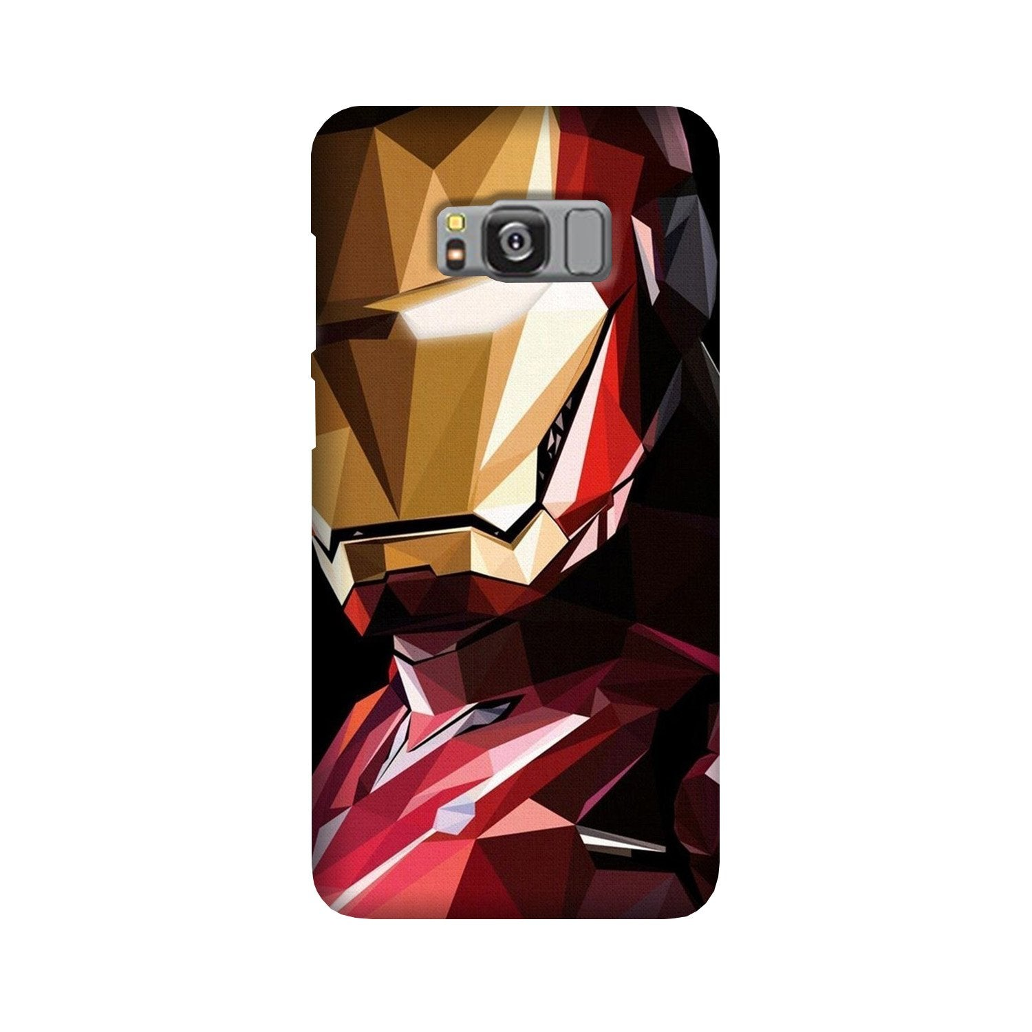 Iron Man Superhero Case for Galaxy S8 Plus  (Design - 122)