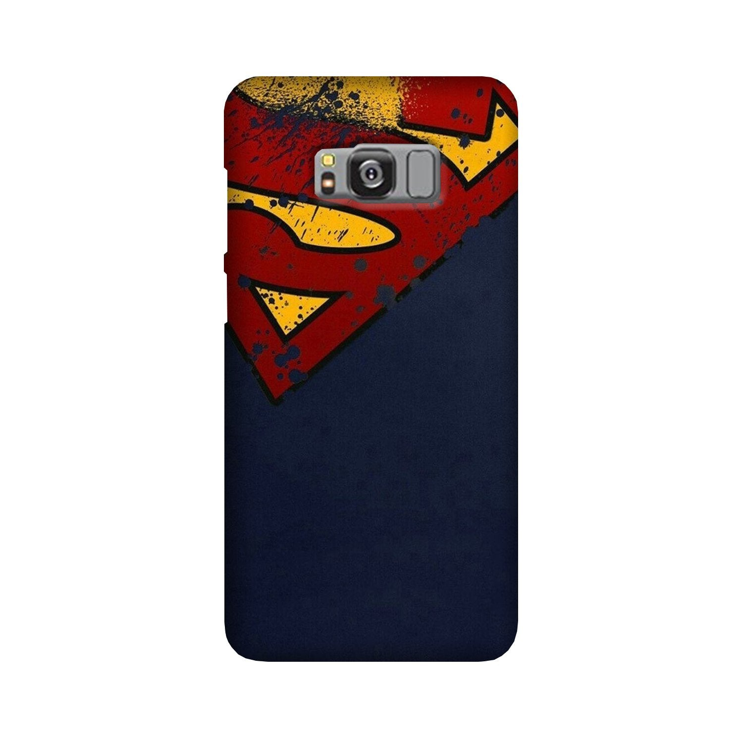 Superman Superhero Case for Galaxy S8 Plus  (Design - 125)