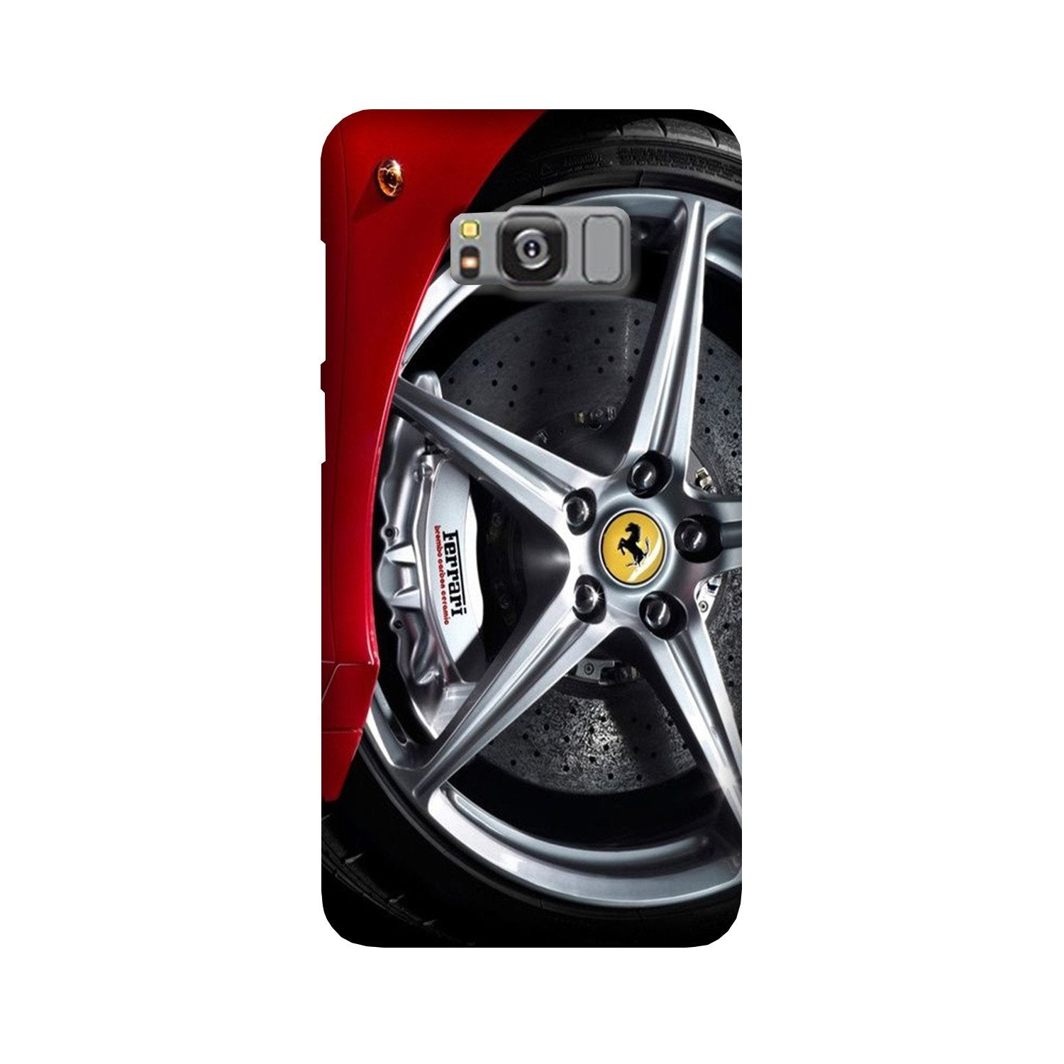 Ferari  Case for Galaxy S8  (Design - 133)