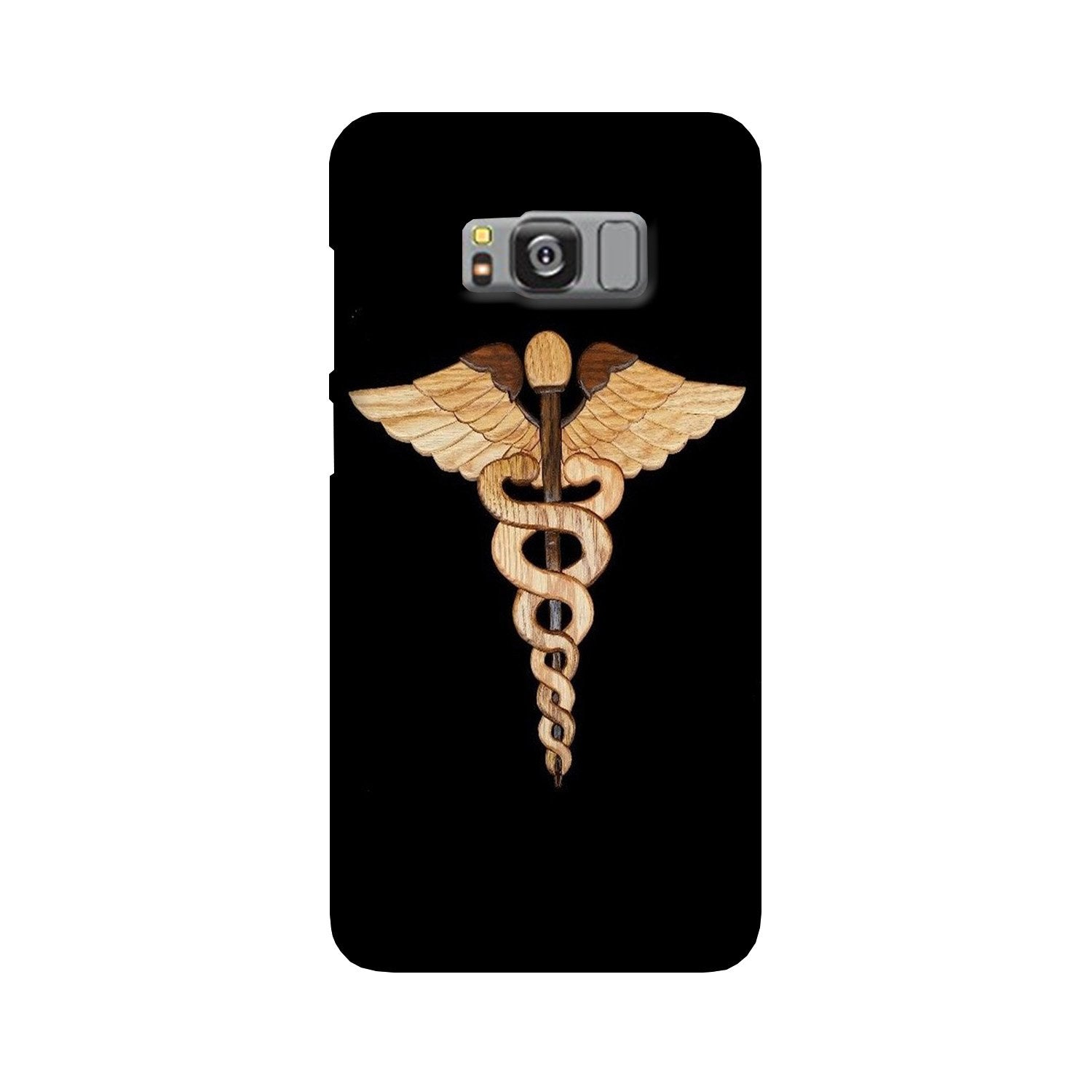 Doctor Logo Case for Galaxy S8  (Design - 134)