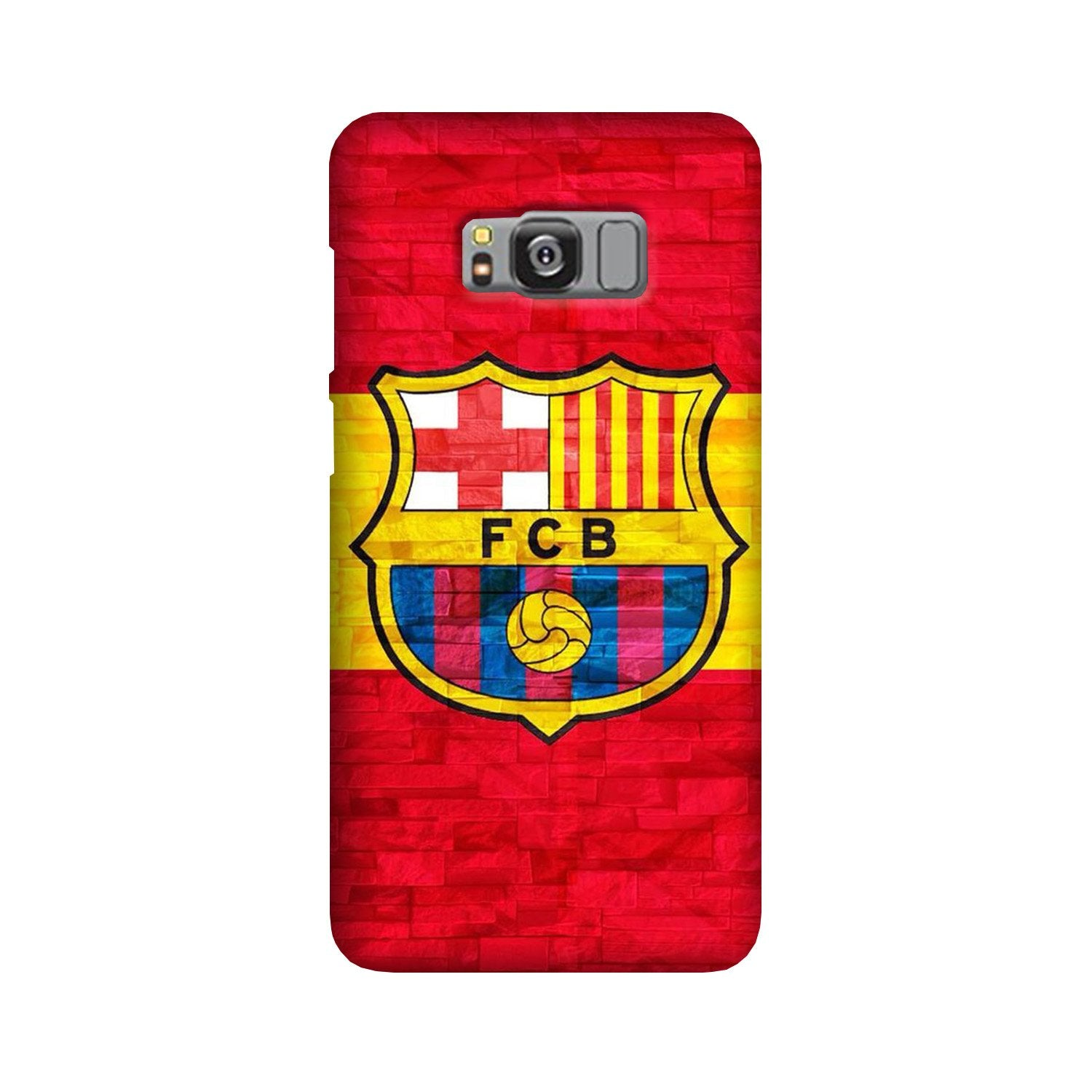 FCB Football Case for Galaxy S8 Plus  (Design - 174)