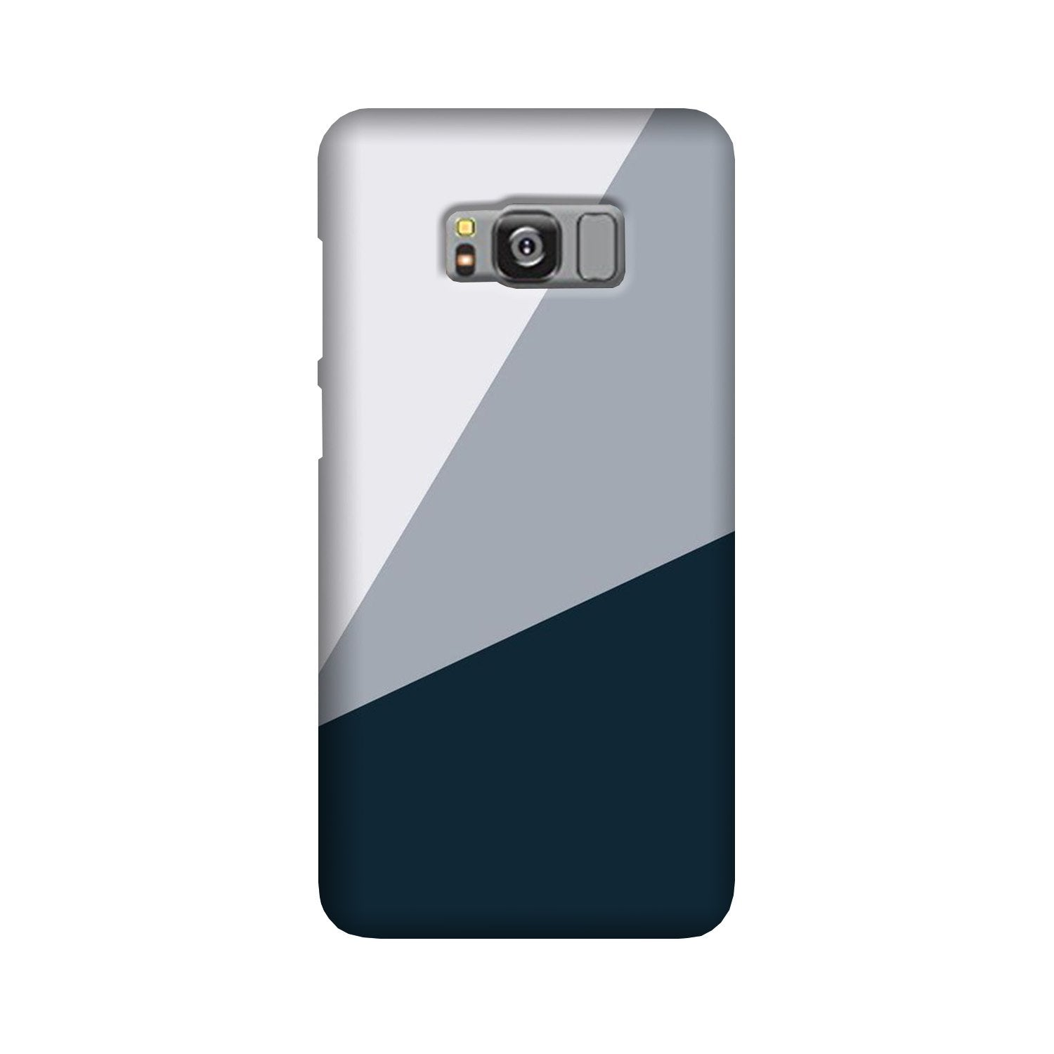 Blue Shade Case for Galaxy S8 Plus (Design - 182)