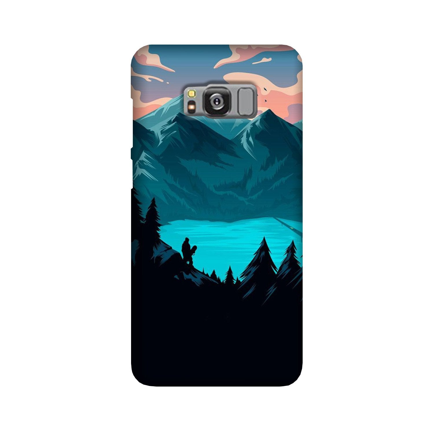 Mountains Case for Galaxy S8 Plus (Design - 186)