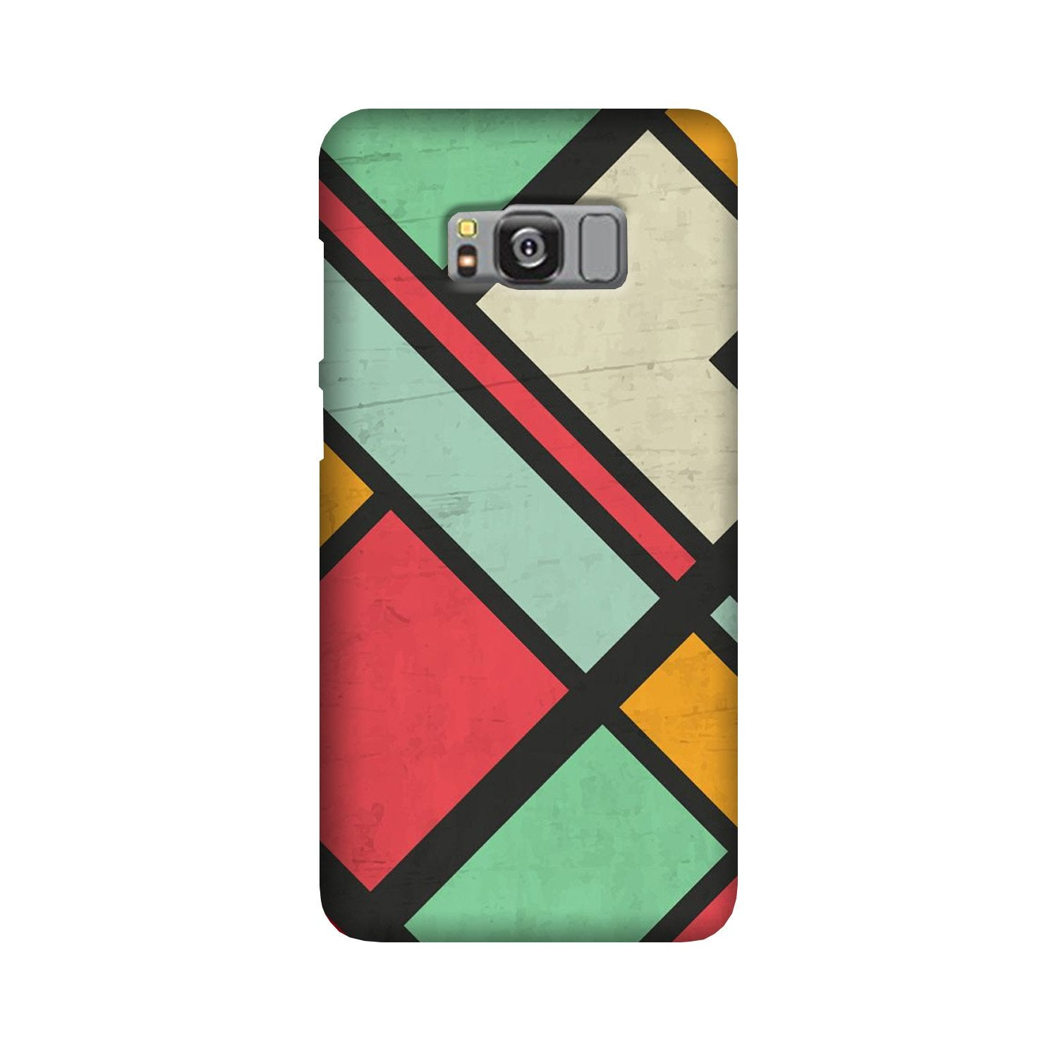 Boxes Case for Galaxy S8 (Design - 187)