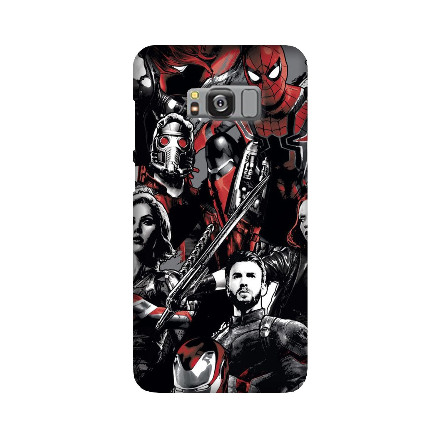 Avengers Case for Galaxy S8 Plus (Design - 190)