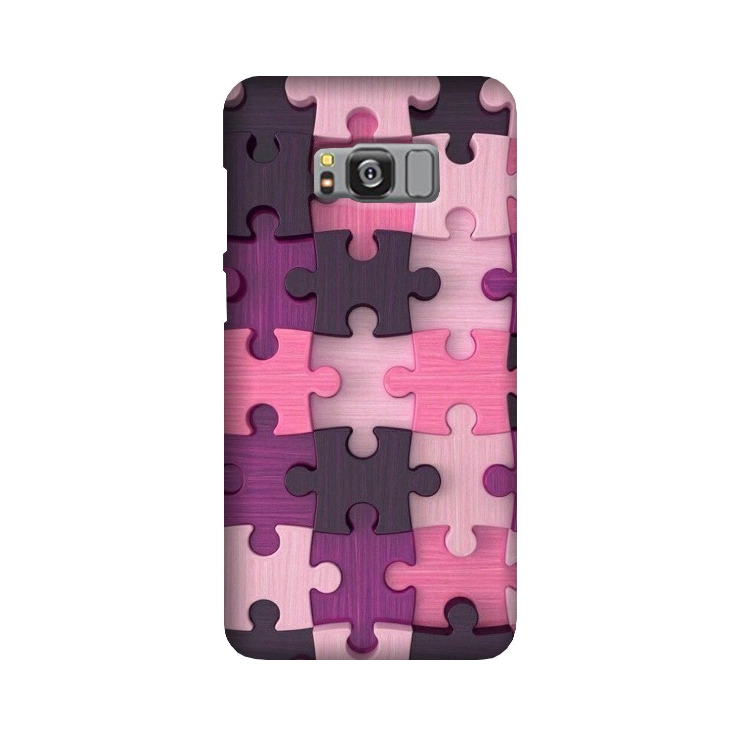 Puzzle Case for Galaxy S8 (Design - 199)